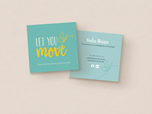 Logo & cartes de visite: Let You Move