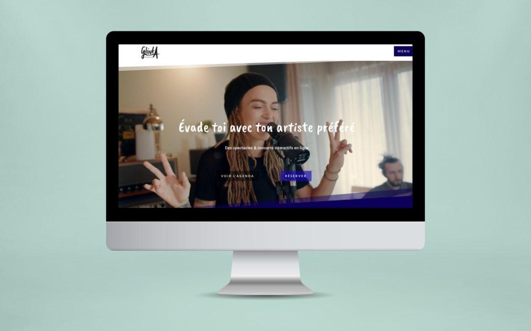 Site internet et billetterie : GlinkA